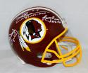 Theismann Moseley Brown Signed Washington Redskins F/S Helmet W/ MVP- JSA W Auth