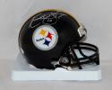 Kordell Stewart Autographed Pittsburgh Steelers Mini Helmet- JSA Witnessed Auth