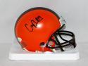 Corey Coleman Autographed Cleveland Browns Mini Helmet- JSA Witnessed Auth