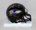 Ed Reed Autographed Baltimore Ravens Mini Helmet- PSA/DNA Authenticated