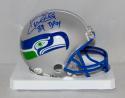Kenny Easley Autographed Seattle Seahawks Mini Helmet With DPOY- JSA W Auth