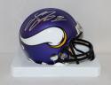 Laquon Treadwell Autographed Minnesota Vikings Mini Helmet- JSA Witnessed Auth