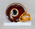 Matt Jones Autographed Washington Redskins Mini Helmet- JSA W Authenticated