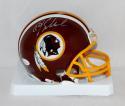 Jay Schroeder Autographed Washington Redskins Mini Helmet- JSA Witnessed Auth