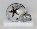 Jaylon Smith Autographed Dallas Cowboys Mini Helmet- JSA Witnessed Authenticated