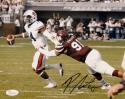 Preston Smith Autographed Mississippi State 8x10 Against Auburn Photo-JSA W Auth