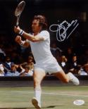 Jimmy Connors Autographed 8x10 Action Photo- JSA Witnessed Auth