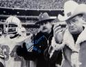 Earl Campbell Signed Oilers 16x20 With Bum Phillips Photo With HOF- JSA W Auth