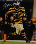 LeVeon Bell Autographed Steelers 16x20 Bumble Bee PF. Photo- JSA Witnessed Auth