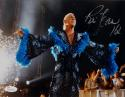 Ric Flair Autographed 8x10 Black and Blue Robe Photo- JSA Witnessed Auth