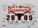 2005 National Champions Autographed UT Longhorns 16x20 Photo- JSA Witnessed Auth
