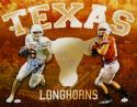 Colt McCoy Jordan Shipley Signed Texas Longhorns 16x20 Photo- JSA Witnessed Auth