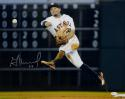 Jose Altuve Autographed Houston Astros 16x20 Off Balance Throw Photo- JSA W Auth