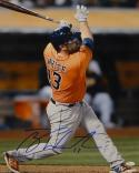 Tyler White Autographed Houston Astros 16x20 Batting Photo- JSA Witnessed Auth
