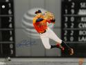 Carlos Correa Signed Houston Astros 16x20 Throwing In Air Photo- TriStar Auth