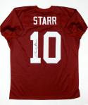 Bart Starr Autographed Maroon College Style Jersey- TriStar Authenticated