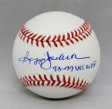 Reggie Jackson Autographed Rawlings OML Baseball With WS MVP- JSA Witnessed Auth