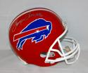 Thurman Thomas Autographed *Silver Buffalo Bills F/S Helmet With HOF- JSA W Auth