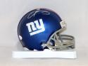 Odell Beckham Autographed Giants Mini Helmet- JSA Authenticated