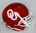 Adrian Peterson Autographed OU Sooners Full Size Authentic Helmet- PSA/DNA Auth