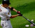 Cal Ripken Jr Autographed Baltimore Orioles 8x10 Batting Photo- JSA W Auth