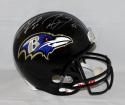 Ray Lewis Ed Reed Autographed Baltimore Ravens F/S Helmet- PSA/DNA Authenticated