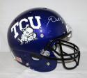 Andy Dalton Autographed TCU Horned Frogs Full Size Helmet- JSA Witnessed Auth