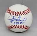 Rafael Palmeiro Autographed Rawlings OML Baseball W/ 569 HRS- JSA W Auth