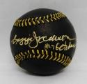 Reggie Jackson Autographed Rawlings OML Black Baseball W/ Mr. October-JSA W Auth