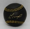 Jose Altuve Autographed Rawlings OML Black Baseball *Thin Gold- JSA Witnessed Auth