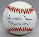 Mariano Rivera Autographed Rawlings OML Baseball W/ WS MVP- JSA Authenticated