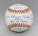 Cal Edwin Ripken Jr. Signed Rawlings OML Baseball W/ 5 Inscriptions- JSA W Auth