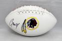 Josh Norman Autographed Washington Redskins Logo Football- JSA Witnessed Auth
