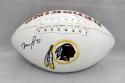 Matt Jones Autographed Washington Redskins Logo Football- JSA Witnessed Auth
