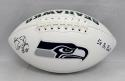 Kenny Easley Autographed Seattle Seahawks Logo Football W/ Pro Bowl- JSA W Auth