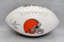 Corey Coleman Autographed Cleveland Browns Logo Football- JSA Witnessed Auth