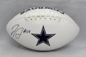 Jaylon Smith Autographed Dallas Cowboys Logo Football- JSA Witnessed Auth