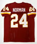 Josh Norman Autographed Maroon Pro Style Jersey- JSA Witnessed Authenticated