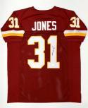 Matt Jones Autographed Maroon Pro Style Jersey- JSA Witnessed Authenticated