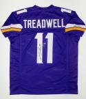 Laquon Treadwell Autographed Purple Pro Style Jersey- JSA Witnessed Auth