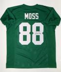 Randy Moss Autographed Green College Style Jersey- PSA/DNA Authenticated