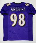 Tony Siragusa Autographed Purple Pro Style Jersey With Inscription- JSA W Auth
