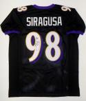 Tony Siragusa Autographed Black Pro Style Jersey With Inscription- JSA W Auth