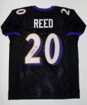 Ed Reed Autographed Black Pro Style Jersey- PSA/DNA Authenticated