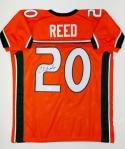 Ed Reed Autographed Orange College Style Jersey- PSA/DNA Authenticated