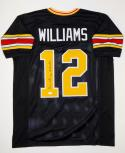 Doug Williams Autographed Black College Style Jersey W/ Go Grambling- JSA W Auth