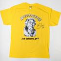 Ric Flair Autographed Yellow Nature Boy T-Shirt W/ 16X- JSA Witnessed Auth