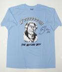 Ric Flair Autographed Blue Nature Boy T-Shirt W/ 16X- JSA Witnessed Auth