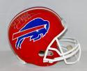 Jim Kelly Autographed Buffalo Bills Full Size Helmet with HOF- JSA W Auth