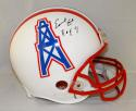 Earl Campbell Autographed Houston Oilers F/S ProLine Helmet With HOF- JSA W Auth